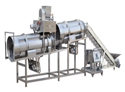 Flavoring and Spraying Line