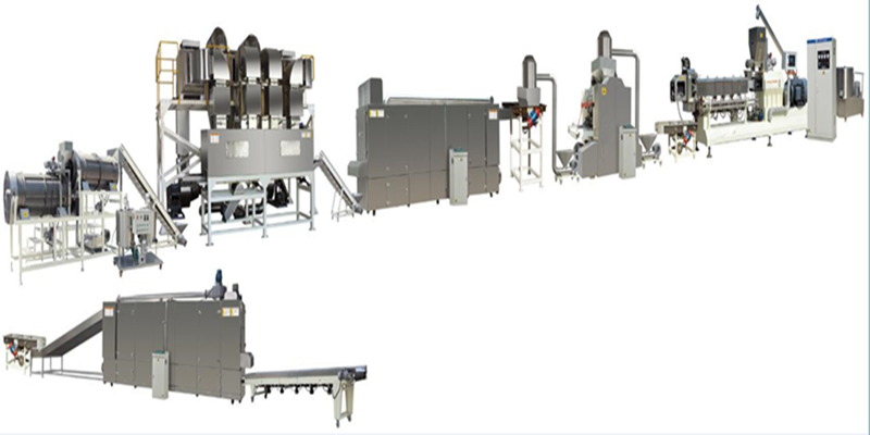 Corn Flakes Breakfast Cereal Food Production Line