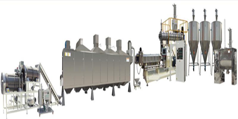 Dog Food, Cat Food, Fish Feed Pet Food Production Line